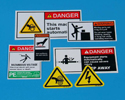 Hazard Warning Labels