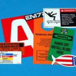Custom Vinyl Tags