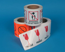 Stranco manufactures a wide selection of shipping labels.
